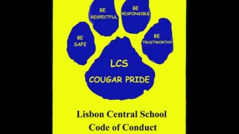 Thumbnail for entry Cougar Code of Conduct