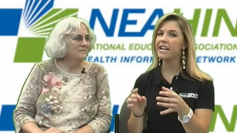Thumbnail for entry NEA Convention: Carolyn Smith-Evans