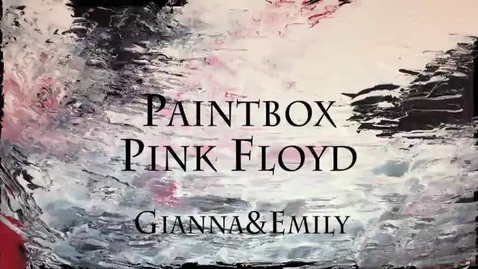 Thumbnail for entry Paintbox by Pink Floyd - MUSIC VIDEO (WSCN 2017)