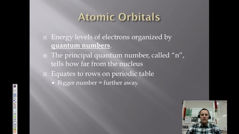 Thumbnail for entry 12. Orbitals & Electron Configurations