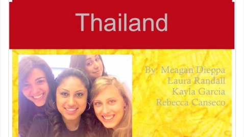Thumbnail for entry Ap world final project: Thailand pd.4