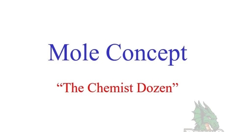 Thumbnail for entry Mole Concept Elements Conversions