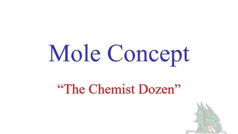Thumbnail for entry Mole Concept Elements Conversions