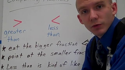 Thumbnail for entry Comparing Fractions