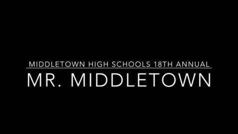Thumbnail for entry RT looks back on the Mr. Middletown pagent
