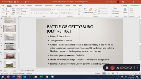 Thumbnail for entry Battle of Gettysburg!