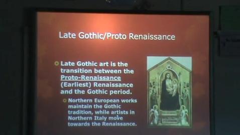 Thumbnail for entry Proto-Renaissance Review