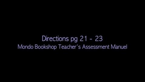 Thumbnail for entry Letter Sound Correspondence Assessment (K-1)