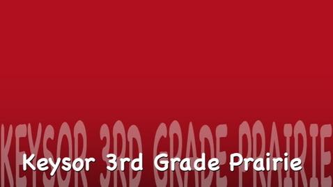 Thumbnail for entry Keysor Third Grade Prairie Seed Stomp