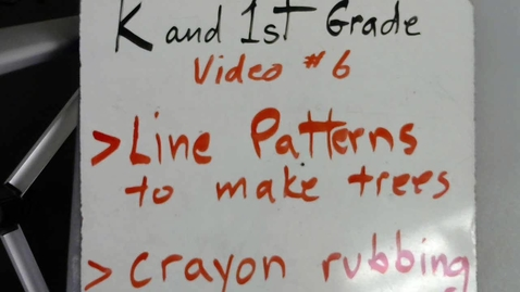 Thumbnail for entry Kinder and 1st Grade video #6