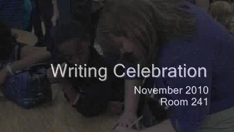 Thumbnail for entry Narrative Celebration - 2010