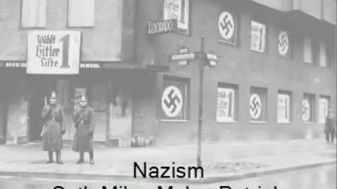 Thumbnail for entry Nazism 3B