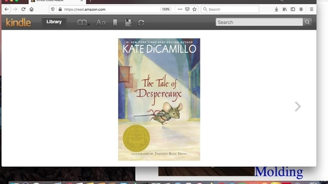 Thumbnail for entry Despereaux Chapters 1-3