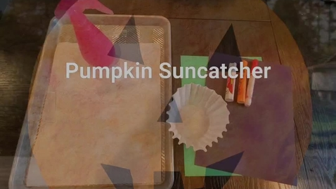 Thumbnail for entry Pumpkin Suncatcher