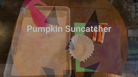 Thumbnail for entry Pumpkin Suncatcher