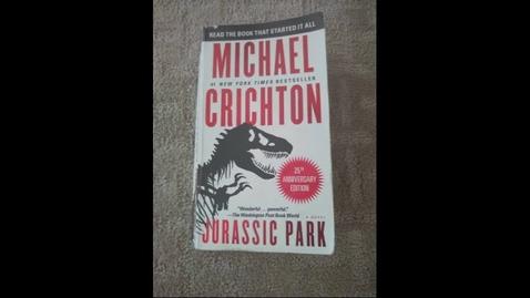 Thumbnail for entry Jurassic Park Booktube