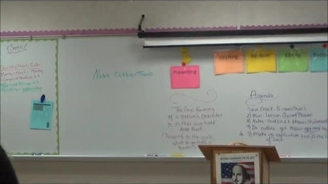 Thumbnail for entry Descriptive Essay Lecture 2: Outlines and Thesis Statements