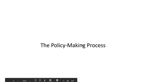 Thumbnail for entry Policy Intro Lecture