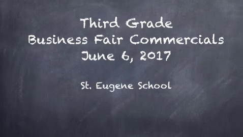 Thumbnail for entry Business Fair Commercials 2017