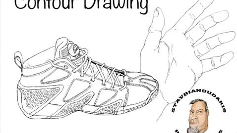 Thumbnail for entry Contour Drawing: hand