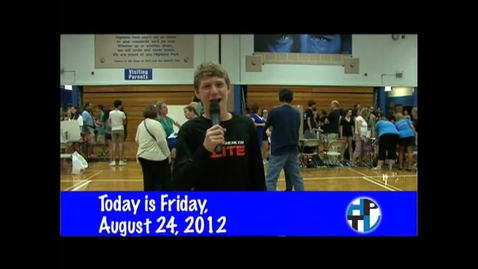 Thumbnail for entry Friday, August 24, 2012