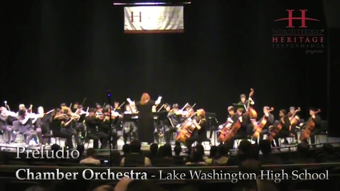 Thumbnail for entry LWHS Chamber Orchestra: Preludio
