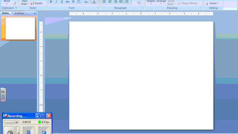 Thumbnail for entry Inserting Items in Powerpoint