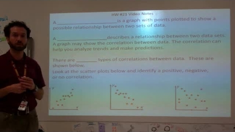 Thumbnail for entry Scatterplots