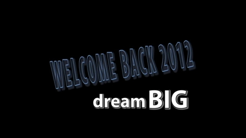 Thumbnail for entry Welcome Back Teachers 2012