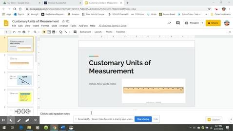 Thumbnail for entry Customary Length Teaching Video.webm