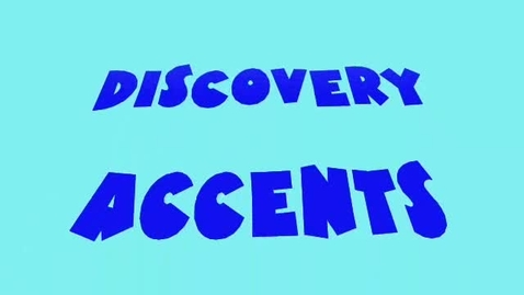 Thumbnail for entry Accents