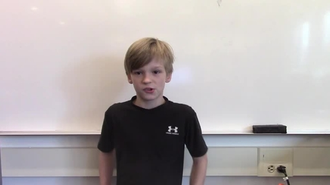Thumbnail for entry 2017 - 4th Grade Wax Museum - Mikey is Barak Obama