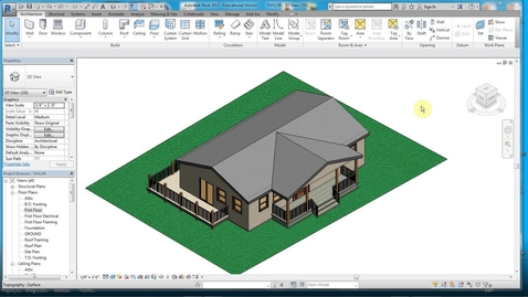 Thumbnail for entry REVIT 14- FLOOR PLAN WITH DIMS.wmv