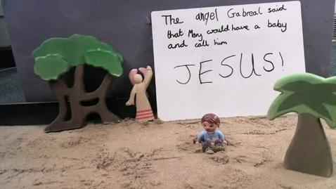 Thumbnail for entry Nativity animation