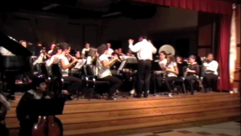 Thumbnail for entry TMS Advanced Band at Winter Concert