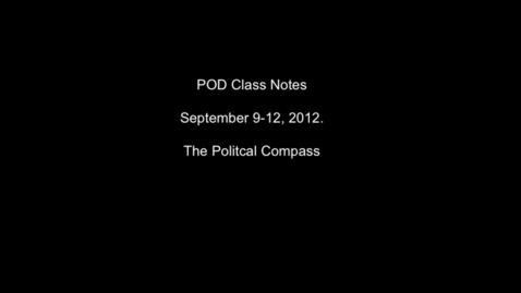 Thumbnail for entry Pod Class Notes 9/10 through 9/12