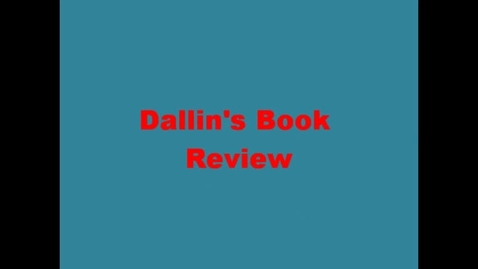 Thumbnail for entry 13-14 Linville Dallin's Book Review