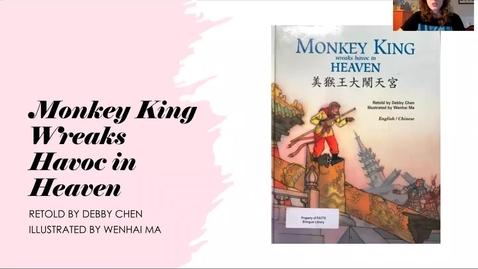 Thumbnail for entry Monkey King Wreaks Havoc in Heaven - Read Aloud