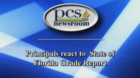 Thumbnail for entry Principals react to State Grade Report