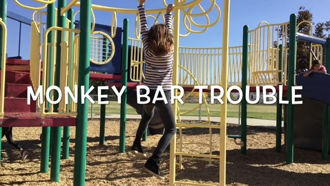 Thumbnail for entry Monkey Bar Trouble