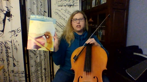 Thumbnail for entry SightRead It     CELLO Gr 8         Pg 14-15
