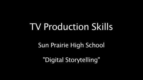 Thumbnail for entry SPHS Digital Storytelling