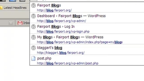 Thumbnail for entry How To Begin A Blog