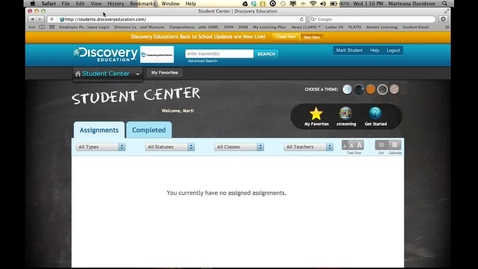 Thumbnail for entry Discovery Education Streaming tutorial