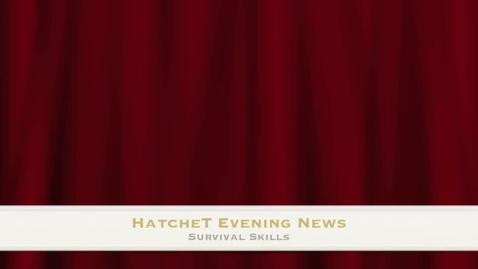 Thumbnail for entry Hatchet Nightly News Presentation