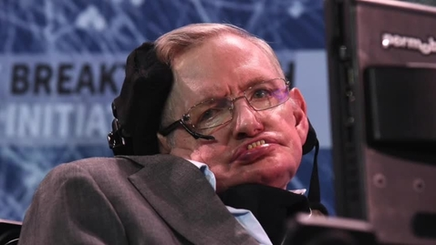 Thumbnail for entry Reaction: Stephen Hawking's Death