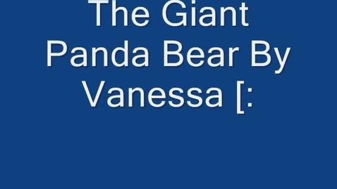 Thumbnail for entry Panda Bears By: Vanessa A
