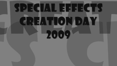 Thumbnail for entry Special Effects Day 2009