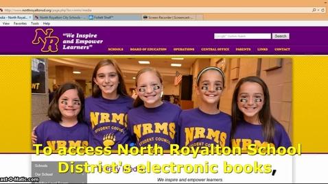 Thumbnail for entry eBooks: Elementary