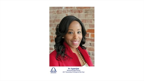 Thumbnail for entry Dr. Crystal Gale, SLPS Secondary Principal of the Year